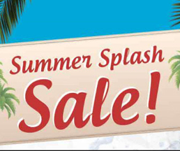 Summer Splash Sale