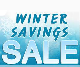 Winter Savings Sale