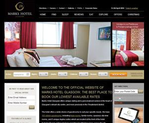 Marks Hotel Glasgow Drives Revenue Across Multiple Channels with Pegasus Connect+ Premium